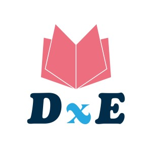 Logo de Dona por la Educacion