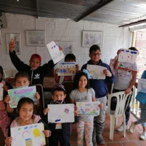 Eco Ludoteca para niños de bajos recursos Pamplona Colombia.